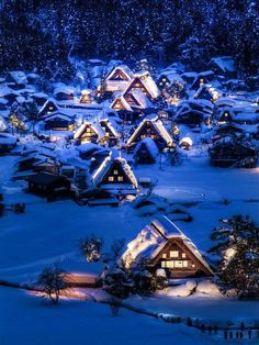 Shirakawa-go, Japan - UNESCO heritage #places