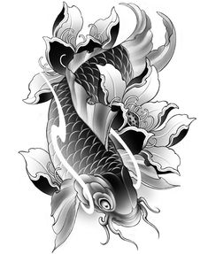 Find Yourself Tattoo Check the webpage to get more information on chinese koi fish tattoo. Fats, when extracted from the correct sources, are an essen. Japanese Koi Fish Tattoo, Koi Fish Drawing, Japanese Dragon Tattoos, Japanese Tattoo Designs, Fish Drawings, Tattoo Drawings, Pez Koi Tattoo, Koi Dragon Tattoo, Koy Fish Tattoo
