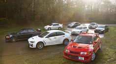Mitsubishi Lancer Evolution: from Evo I to Evo X