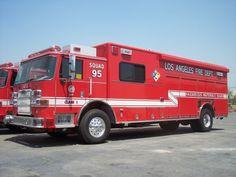 LAFD rescue   LAFD HazMat Squad 95 - My Firefighter Nation