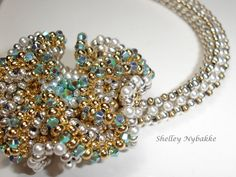 Cluster Fun Necklace Tutorial  pdf by SturdyGirlDesigns on Etsy, $20.00