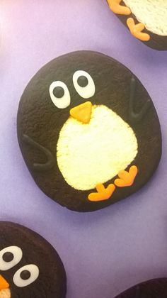 Awkward penguin cookies by Rosanna Pansino
