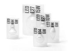 LED Light Bulbs (Student Project) via Packaging of the World - Creative Package Design Gallery http://ift.tt/1Stprqc