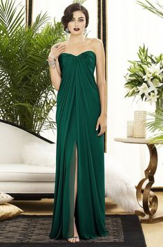 love this Emerald dress!