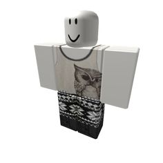 Christmas Cute Owl Outfit with Leggings - ROBLOX