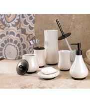 Regency Ceramic bath accessory set