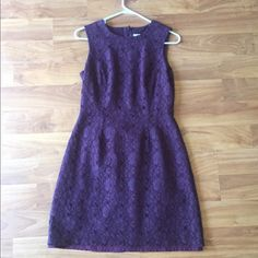 *FINAL PRICE DROP* Wine Lace Shift Dress Wine-color. Size 6 lace dress. Ordered from Nordstrom. Halogen brand. Only worn once. In perfect condition! The third photo best shows the true color of the dress. No trades please. *PRICE FIRM* Halogen Dresses