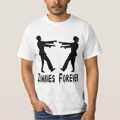 Zombies Forever T-Shirt Matching Couple Outfits, Matching Couples, Cute Couples, Zombie T Shirt, Halloween Shirt, Relationship Shirts, Cute Couple Shirts, Zombies, Mens Tops