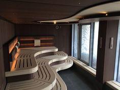 Spa Interior, Home Interior Design, Sauna House, Sauna Room, Saunas, Mini Sauna, Massage Room Design, Sauna Design, Spa Rooms