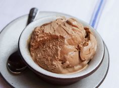 Chocolate frozen custard. Yummy and its easy to make. Tastes great, we made it today.