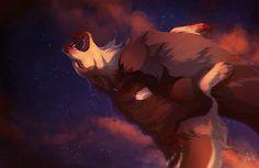 *SPOILER* Wirrem's death [Worth Protecting by Tazihound on DeviantArt] Anime Wolf, Anime Furry, Fantasy Wolf, Fantasy Art, Cartoon Wolf, Maned Wolf, Werewolf Art, Wolf Spirit Animal, Wolf Pictures