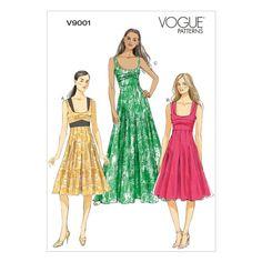 Mccall Pattern V9001 6-8-10-12--Vogue Pattern
