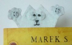 Cat bookmark by TosTosia