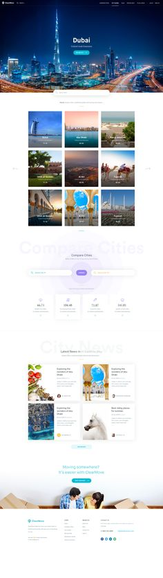 City guides main page