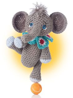 Inspired by the Japanese craft of Amigurumi, designer Teri Crews includes a cat, elephant, bunny, monkey, dog, hippo, giraffe and bear in this cuter-than-ever crochet book. Instructions include notes