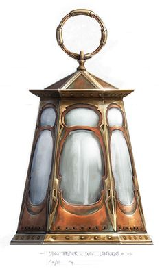 Jeremy Love - Deck Lantern