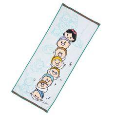 Snow White & The Seven Dwarves Tsum Tsum Face Towel