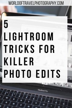 5 Lightroom Tricks for Killer Photo Edits. These lesser known Lightroom tricks and tips will help you to shake up your photo editing workflow as a photographer. If you need some inspiration on how to level up your editing game then this is the guide for you. #Photography #Lightroom #Editing #Tips