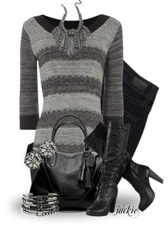 """""""Tunic Time"""" by jackie22 ❤ liked on Polyvore"""