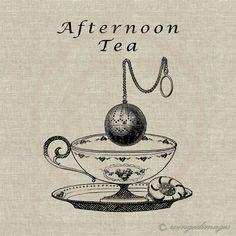 Afternoon Tea Image   Doodle idea