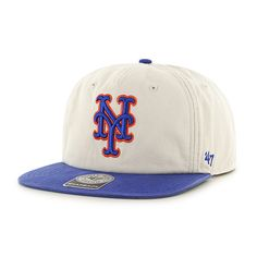6d0c22e830f89 New York Mets Marvin Captain Rf Natural 47 Brand Adjustable Hat