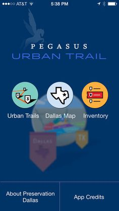 Pegasus Urban Trails, an app that's as fun as it is educational.