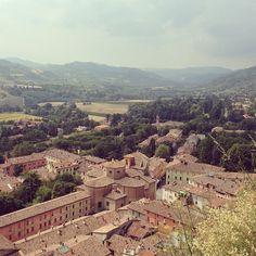 Vue sur #Brisighella depuis la tour de l'horloge - Instagram by @Adeline
