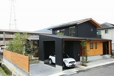 My Home Design, House Design, Gable Roof, Japanese Architecture, Roof Design, Decor Styles, House Plans, Shed, Farmhouse