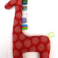 Shweshwe Giraffe Giraffe, Sewing, Toys, Couture, Fabric Sewing, Toy, Giraffes, Games, Sew