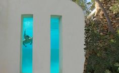 Villa Roca, Sant Josep de Sa Talaia (Ibiza) #pool #piscina #piscinadecristal #design #vidrio #glass #vidro