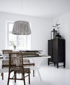 Nye lamper over spisebordet!