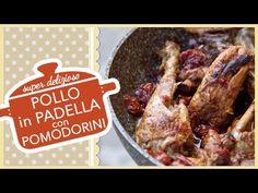 POLLO IN PADELLA CON POMODORINI   ricetta super deliziosa