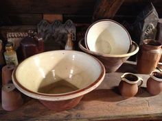 From Ancient Industries  Repinned as I have exactly the same bowl, which we found at the dump!