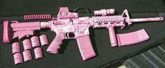 Comes in pink, la la