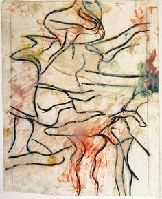 Willem de Kooning, Untitled, 1970-80