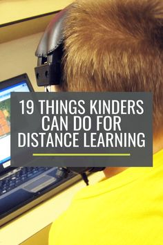 Butter Cookies 19 Things Kindergartners Can Do For Distance Learning Learning Apps, Home Learning, Learning Resources, Student Learning, Parent Resources, Preschool Learning, Educational Activities, Teaching Ideas, Toddler Learning