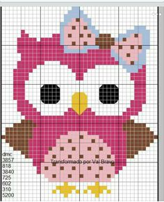 1 Million+ Stunning Free Images To Use A - Diy Crafts Cross Stitch Owl, Cross Stitch Animals, Cross Stitch Designs, Cross Stitching, Cross Stitch Embroidery, Embroidery Patterns, Cross Stitch Patterns, Modele Pixel Art, Pixel Crochet