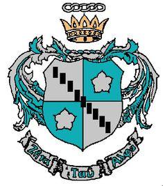 Crest of Zeta Tau Alpha fraternity