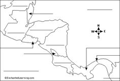 blank-map-of-central-america-and-caribbean-islands-best