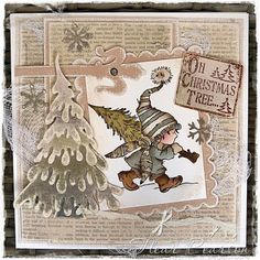 Uses Dee's Distinctively Large Snow Covered Tree Stacker Christmas Cards 2017, Christmas Card Crafts, Xmas Cards, Christmas Ideas, Homemade Greeting Cards, Greeting Cards Handmade, Homemade Cards, Fall Cards, Winter Cards