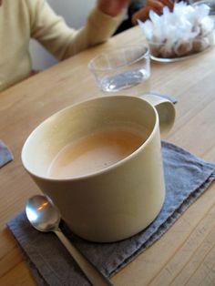 """""""itonowa""""@浅草:ほうじ茶ミルク"""