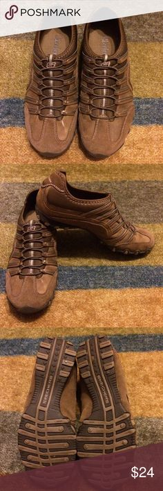 Skechers Slip on Sneakers   Women's Brown Slip on Sneakers .  Size 7. Great Condition. Stored in shoe box. Worn a few times and still look New! Skechers Shoes Athletic Shoes