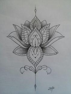 Flor de lótus Tattoo...