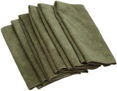 Amazon.com - DII Kitchen Millenium Microfiber Kitchen Towel Set of 6, Sage - Drying Towel Dish #AmazonCart #DII #DesignImports