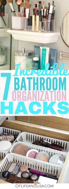 Incredible Bathroom Organization Ideas To Help You Declutter