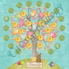 Preserving Heritage: Magnetic Family Tree game, revised