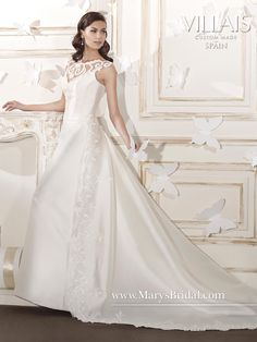 Collection: Bridal Gowns - Villais Collection PRICE$2787.00 STYLE: F15-B8024