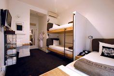 Ofrece la opción de hospedarse en una habitación más económica con bunk beds. | Galería de fotos 2 de 12 | AD MX