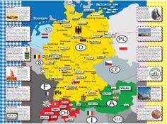 Kinderlandkaart om kinderen mee te laten kijken tijdens de reis.