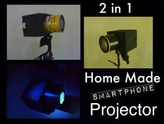 Introduction:The best way to watch movies is watching it in theaters.,or your wide LED SmartTv or watching it on your smartphones or tablet is great too!.,but why not turn your smartphones into projector.,so you can watch movies with the feeling of watching it in theater the old fashion way.,In this instructables i will show you how to make a projector using durable material that will last for a long time.,So lets get started how to make an easy projector for smartphone.NOTE:•This projec...